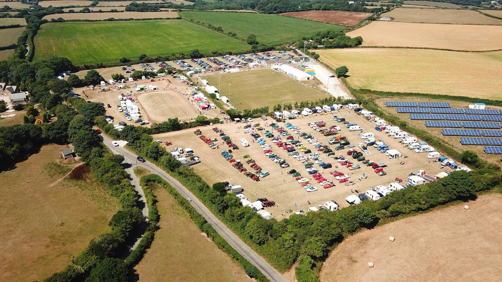 sticker country fayre and vintage rally aerial 003